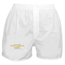 Navy League Dads Boxer Shorts