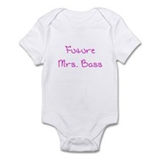 Future Mrs. Bass Onesie
