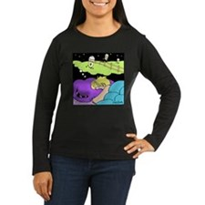 Counting Decaf Women's Long Sleeve Dark T-Shirt