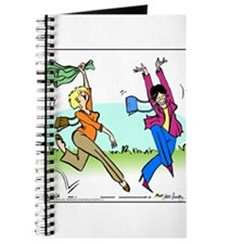 Susan and Maeve Dancing Journal