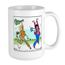 Susan and Maeve Dancing Large Mug