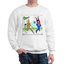 Susan and Maeve Dancing Sweatshirt