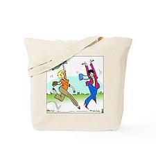 Susan and Maeve Dancing Tote Bag