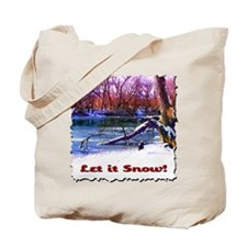 Let It Snow! Tote Bag