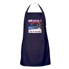 Let It Snow! Apron (dark)