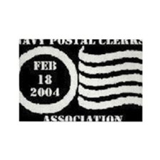 Funny Postal clerks Rectangle Magnet