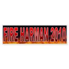 Fire Jane Harman (sticker)