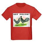 Got Polish? Kids Dark T-Shirt