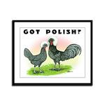 Got Polish? Framed Panel Print