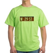 West 29th Street in NY T-Shirt