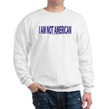 """I am not American"" English Jumper"