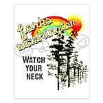 Forks Washington Twilight Small Poster
