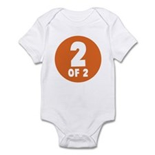 2 Of 2 Infant Bodysuit