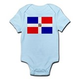Dominican Republic Flag Infant Creeper