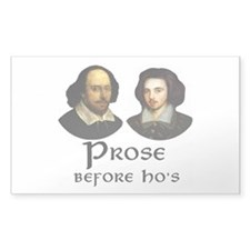 Prose Rectangle Decal
