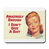 Cute Retro humor Mousepad