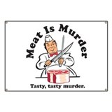 Meat Is Murder Banner