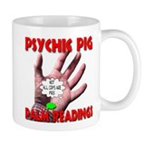 Psychic Pig Palm Readings Mug