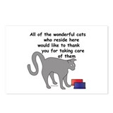 The Wonderful Cats Postcards (Package of 8)