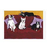 Hart Dogs Close Up Postcards (Package of 8)