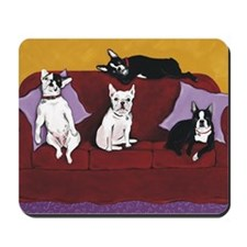 Hart Dogs Close Up Mousepad
