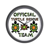 Turtle Rescue Wall Clock