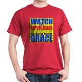 Watch For Republicans Black T-Shirt