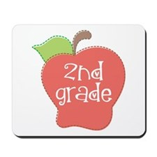2nd Grade Apple Mousepad