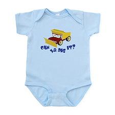 Unique Dig Infant Bodysuit