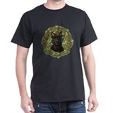 Scottish Terrier Xmas Wreath T-Shirt