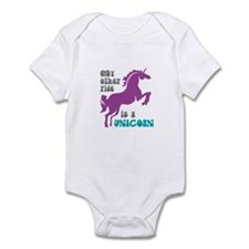 Unicorn Ride Infant Bodysuit