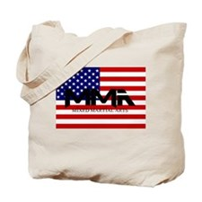 MMA USA Black Text Tote Bag