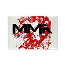 MMA Blood 3 Rectangle Magnet
