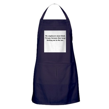 my employers Apron (dark)