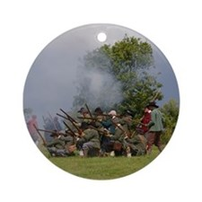 Musket fire Ornament (Round)