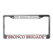 25th Inf Div 3bde License Plate Frame