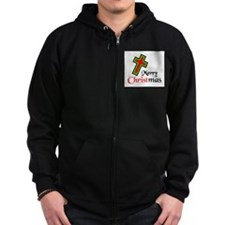 KEEP CHRIST IN CHRISTMAS Zip Hoodie