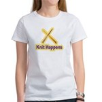 Knit Happens Kitting Happens Women's T-Shirt