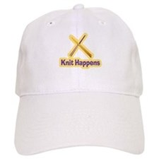 Knit Happens Kitting Happens Baseball Cap