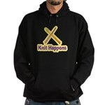 Knit Happens Kitting Happens Hoodie (dark)