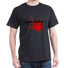 Cage Fighter Bloody Handprint T-Shirt
