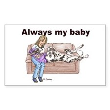 CH Always My Baby Rectangle Sticker 50 pk)