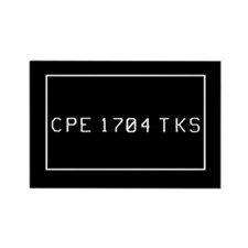 CPE 1704 TKS Rectangle Magnet (10 pack)