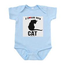 I love my cat ~  Infant Creeper