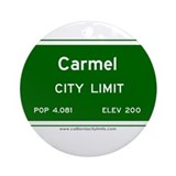 Carmel Ornament (Round)