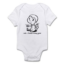 milk-does a baby good Infant Bodysuit