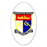USS Hamul (AD 20) Oval Sticker (10 pk)