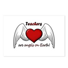 Angel Teacher Postcards (Package of 8)