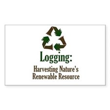 Logging: Renewable Resource Rectangle Decal