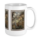 Second look mule deer, Large mug